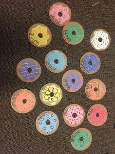 Donut door decs :)