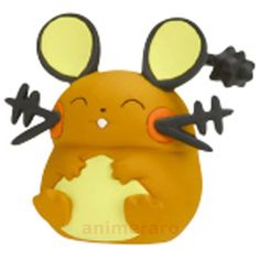 Pokemon XY Fairy Full Collection DEDENNE Figure Nintendo Tomy Gashapon  #TakaraTomyArts