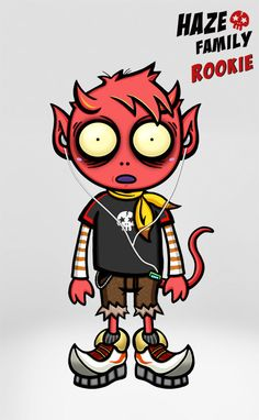 Urban Devil - Haze Family 11 - Rookie  / Creator, Characters and Illustrations by PEPPERJERRY