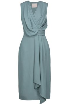 Jason Wu draped crepe dress very pretty. Day Dresses, Evening Dresses, Summer Dresses, Elegant Dresses, Beautiful Dresses, Draped Dress, Jason Wu, Classy Dress, Dress Patterns