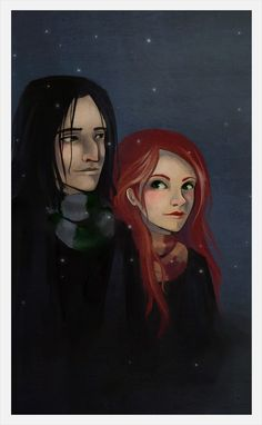 Always by ereya on deviantART Snape and Lily