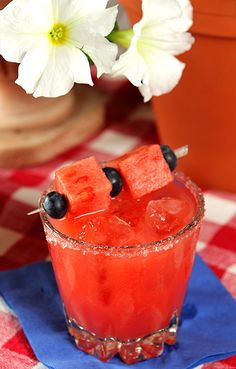 Watermelon Margarita - Creative Culinary Recipes