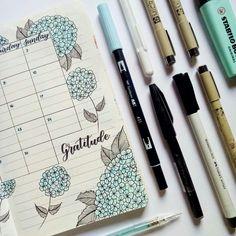 Hydrangea Monthly Log