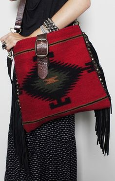 Inspiration ~ the entire balance of this bag is perfect!  From the pattern, colour, shape and size ......