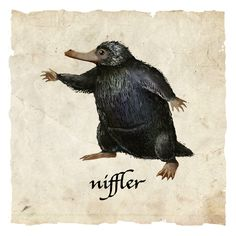 The Niffler is my fave beast. The bowtruckle is pretty amazing as well. Nothing can beat the world of magic by J.K Rowling!