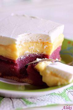 Mamina jela: Krem kolač sa višnjama i grizom - 2
