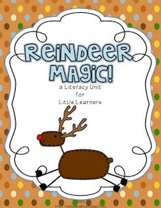 Primary Graffiti: Holiday Lessons and a GIVEAWAY!  Reindeer Fun!