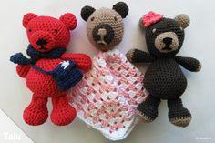 In dieser kostenlosen Anleitung für Anfänger zeigen wir, wie Sie einen Teddy häkeln - im Amigurumi-Stil. Dieser süße Teddy wird Sie begeistern!