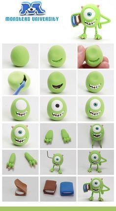 Personajes Monster University