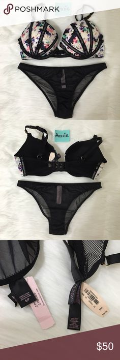 VS Set Very Sexy Push up 32D & S Nwt ✨✨Check out my Closet ;) ✨✨ All Sale are Final No Return, No Exchange Victoria's Secret Intimates & Sleepwear Bras