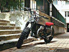 "Lsr Bikes: Honda CX 500 ""L´Arrogante"" by Espresso Motorcycle"