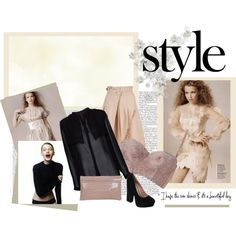 Nude Bra, created by nuria-solano on Polyvore