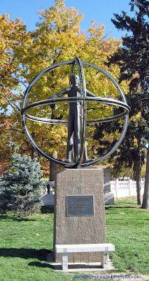Denver's Christopher Columbus monument.
