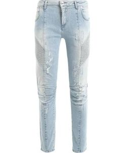 CalÇa Jeans Skinny - Azul