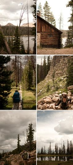 I am an age old tree. I am stars in white snow.: backpacking in the uintas : we made chopsticks and came out dry