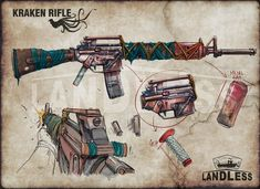Fallout Concept Art, Fallout Art, Weapon Concept Art, Apocalypse World, Apocalypse Art, Apocalypse Survival, Zombie Army, Zombie Weapons, Character Art