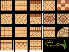 Paving blocks or brick flooring with various variations generally for outdoor use, is a floor decoration technique for results that are more attractive, elegant and beautiful. Concrete on paving blocks… Driveway Blocks, Block Paving Driveway, Patio Blocks, Brick Driveway, Driveway Design, Brick Path, Driveway Ideas, Paving Design, Path Design