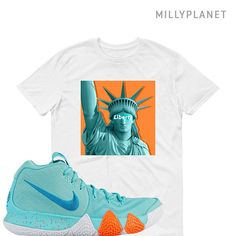 Nike Kyrie 4 Power is Female Unisex, New York Liberty Ladies Fit, Kids, Youth T-shirt