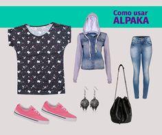 Look com a blusinha com estampa Silhuestrelas, inspirada em Star Wars, feita por Juliana Rabelo.   Compre a sua na loja www.alpaka.com.vc