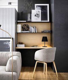 """7,707 Likes, 34 Comments - In and Out Decor (@inandoutdecor) on Instagram: """"Um home office bem inspirador para essa quinta-feira com cara de sexta. (www.inandoutdecor.com.br)…"""""""