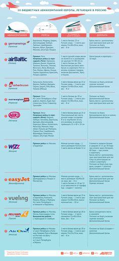 Что предлагают лоукостеры в России? Инфографика | Инфографика | Аргументы и Факты