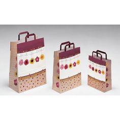 Bolsas de papel Naxos, precioso diseño de bolsas de la marca Carpad