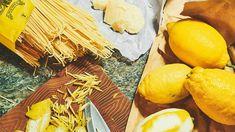 Faule Zitronenspaghetti fürs Wochenende vom ZEIT-Wochenmarkt