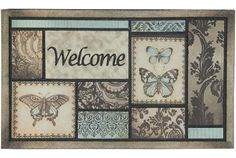 Multi Block Wel. Ht - Back To The Garden - Area Rug in Mohawk Home