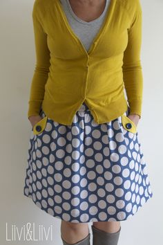 Lotta Skirt for women - Compagnie M. Modest Outfits, Cute Outfits, Diy Rock, Diy Fashion, Fashion Outfits, Diy Clothes, Clothes For Women, Pattern Sewing, Comfortable Outfits