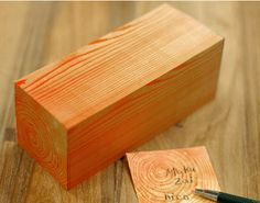 Wood Print Sticky Notes