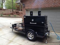 "[su_custom_gallery source=""media: link=""post"" title=""never""][su_tab title=""Custom Options"" description=""test""][su_custom_gallery source=""category: link=""lightbox"" title=""never"" class=""""][/su_custom_gallery] Custom Bbq Smokers, Custom Bbq Pits, Receta Bbq, Bbq Grill, Grilling, Smokers For Sale, Cake Minion, Gas Smoker, Bbq Equipment"