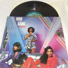 Kool & The Gang ‎Vinyl LP Celebrate ! DSR 9518 EX US 1980 Funk Soul Disco Pop