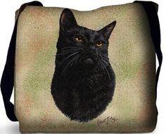 Black Cat Bag (Tote Bag)