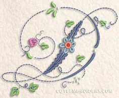 Today's Free Embroidery Design