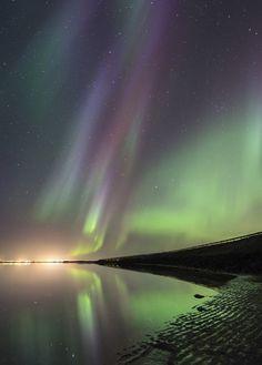accio-forest:Ölfusá Aurora - Eyrarbakki Iceland by Kris...