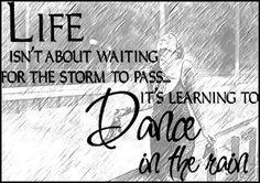 Dance in the rain !