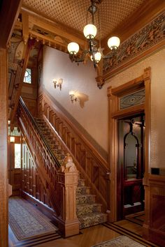 McDonald Mansion Main Stair Hall