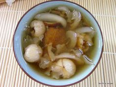 No-Frills Recipes ... cooking, baking & excerpts on travel: Sea coconut with snow fungus sweet soup