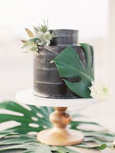 Image result for naked cake palm frond