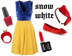 DIY Snow White costume!