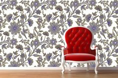 Removable Wallpaper- Lace Recovery- Peel Stick Fabric Temporary Wallpaper-Repositionable-Reusable-Self Adhesive- FAST. Apartment Walls, Temporary Wallpaper, Easy Peel, Diy Design, Design Ideas, House Warming, Sweet Home, New Homes, House Design