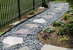 Neighbor's yard flooding your lawn? Muddy, Standing water on side of house? Drainage problems between houses? If you live in a residential planned community in the greater Houston area, you are more than likely aware of the close proximity between you and River Rock Landscaping, Landscaping With Rocks, Backyard Landscaping, Stone Landscaping, Backyard Ideas, Sloping Backyard, Backyard Designs, Landscaping Design, Design Patio