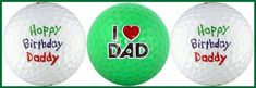 Happy Birthday Daddy w/ Love You Golf Ball Gift Set * Check out this great product.