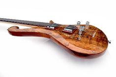 Ophelia (spalted maple) - Motherplucker Guitars