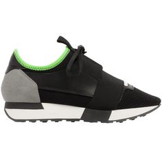 Balenciaga Race Runners ($645) ❤ liked on Polyvore featuring home, kitchen & dining, table linens, shoes and balenciaga