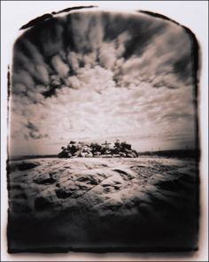 Wayne Martin Belger - he not only creates the photographs, but also constructs the elaborate (and often bizarre) pin-hole cameras that take the images..