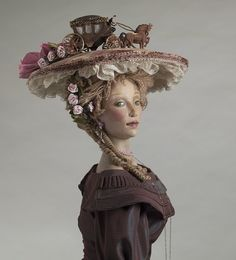 NANCY WILEY Woman in Hat by NIADAartists on Etsy
