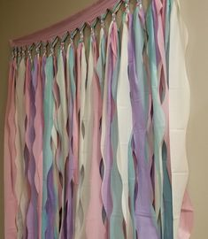 Our unicorn backdrop is perfect for any unicorn birthday party or special occasion! -Colors: Robins Egg Blue, lavender, pink, and vanilla cream -Size:… - Unicorn Themed Birthday Party, Diy Birthday Banner, Birthday Decorations, Birthday Party Themes, Parties Decorations, Diy Birthday Backdrop, Pastel Party Decorations, Birthday Ideas, 5th Birthday