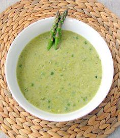 Soups: Sweet Pea Asparagus & Spicy Pepper Squash | Asparagus Soup ...
