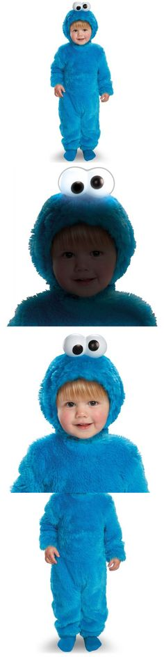 Infants and Toddlers 90635 Light-Up Cookie Monster Costume Sesame Street Halloween Fancy Dress  sc 1 st  Pinterest & 6960 best COOKIE MONSTER images on Pinterest | Decorated cookies ...